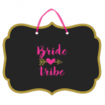 Picture of BRIDE TRIBE CHALKBOARD SIGN