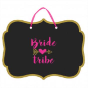 Image de BRIDE TRIBE CHALKBOARD SIGN