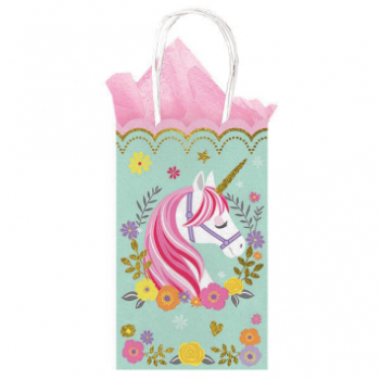 Picture of MAGICAL UNICORN GLITTER SMALL CUB BAG - 10PK