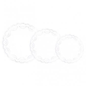 Picture of DOILIES ASSORTED SIZES  - 18CT