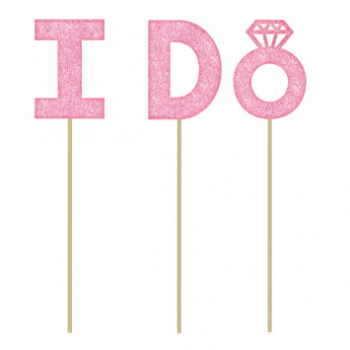Picture of I DO CAKE PICK - PINK