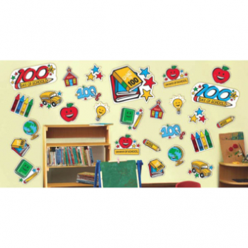 Picture of 100TH DAY OF SCHOOL MEGA VALUE CUTOUT PACK