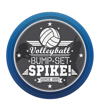 """Picture of VOLLEYBALL - SERVE IT UP VOLLEYBALL - 7"""" PLATES"""