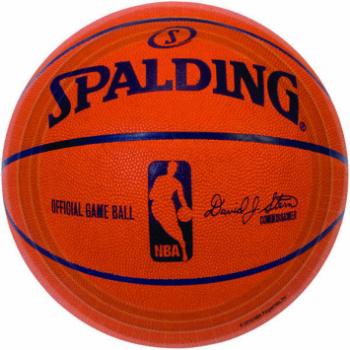 """Image de BASKETBALL 7"""" ROUND PLATES"""