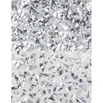 Picture of SPARKLE FOIL SHRED CONFETTI  - SILVER