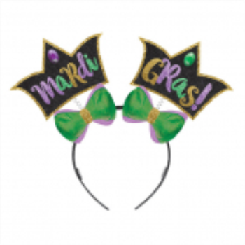 Picture of MARDI GRAS GLITTER HEADBAND