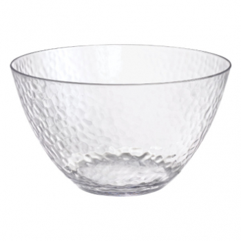 Image de SERVING WARE - HAMMERED CLEAR LARGE BOWL - 4.5QT