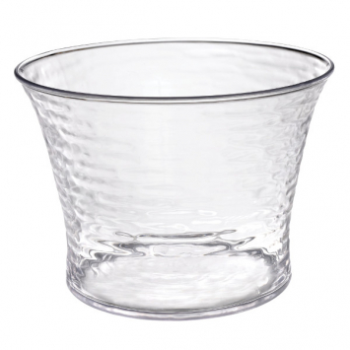 Picture of SERVING WARE - HAMMERED BEVERAGE CLEAR TUB