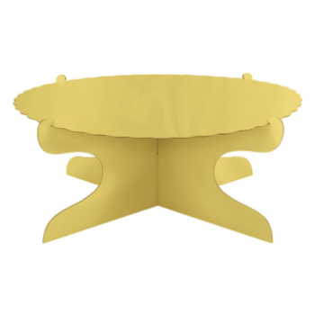 Picture of CAKE STAND - GOLD