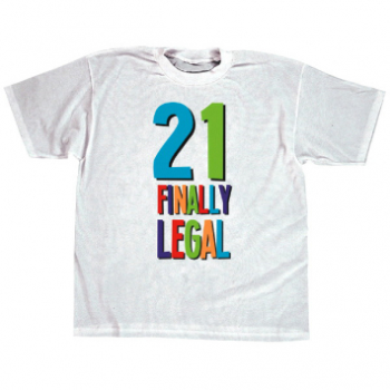 Picture of 21ST BIRTHDAY T-SHIRT