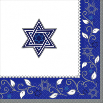 Picture of PASSOVER - JOYOUS HOLIDAY DINNER NAPKINS