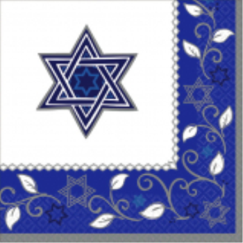 Picture of PASSOVER - JOYOUS HOLIDAY LUNCHEON NAPKINS