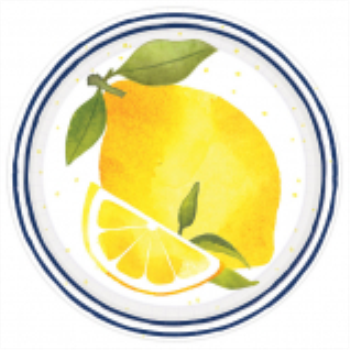 """Picture of LEMONS 7"""" PLATE"""