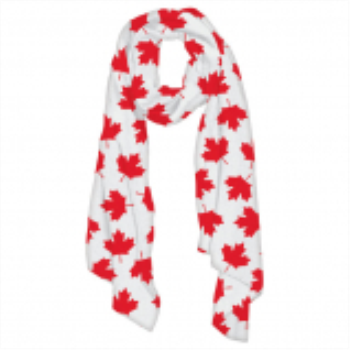 Picture of CANADA DAY FLAG SCARF