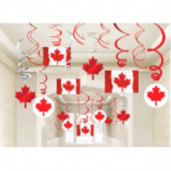 Image de CANADA DAY SWIRLS DECO