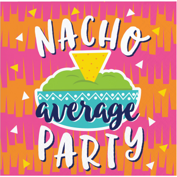 Picture of FIESTA FUN NACHO BEVERAGE NAPKINS