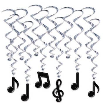 Picture of 50'S - MUSICAL NOTES WHIRLS