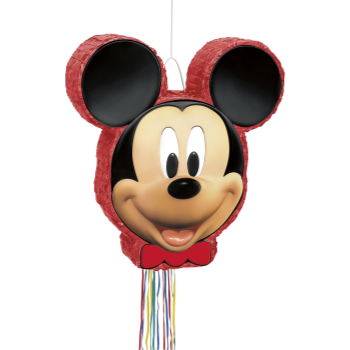 Picture of MICKEY MOUSE DRUM PULL PINATA