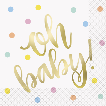 Picture of OH BABY LUNCHEON NAPKINS