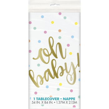 Picture of OH BABY TABLE COVER
