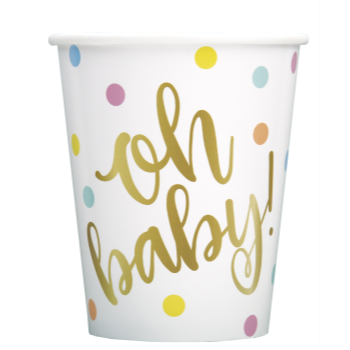 Picture of OH BABY 9OZ CUPS