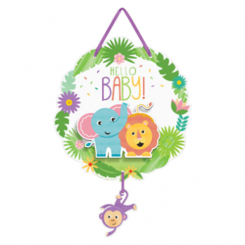 Picture of FISHER PRICE HELLO BABY HANGING SIGN
