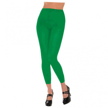 Image de GREEN FOOTLESS TIGHTS - ADULT