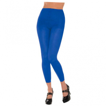 Image de BLUE FOOTLESS TIGHTS - ADULT