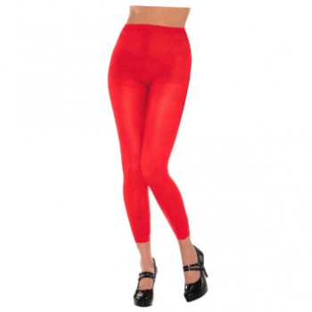 Image de RED FOOTLESS TIGHTS - ADULT