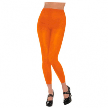 Picture of ORANGE FOOTLESS TIGHTS - ADULT