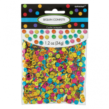 Picture of SEQUINED CONFETTI - MULTI