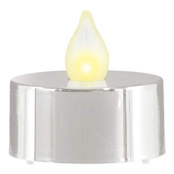 Image de DECOR - LED TEALIGHTS - SILVER