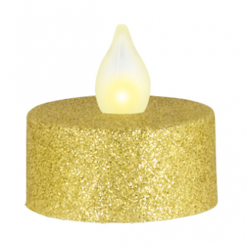 Image de DECOR - LED TEALIGHTS - GOLD GLITTER