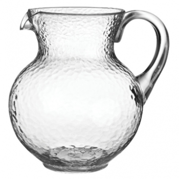 Image de CLEAR MARGARITA PITCHER - HAMMERED LOOK