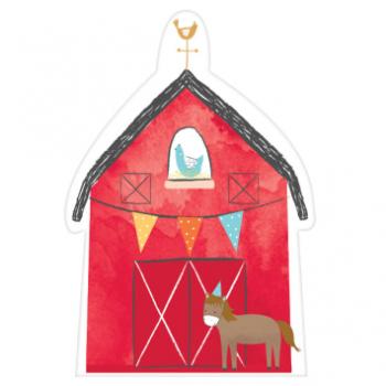 Image de BARNYARD BIRTHDAY - INVITATIONS