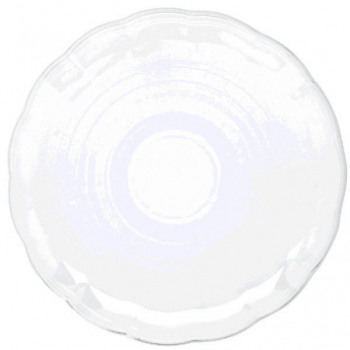 "Picture of 12"" CLEAR ROUND TRAY"