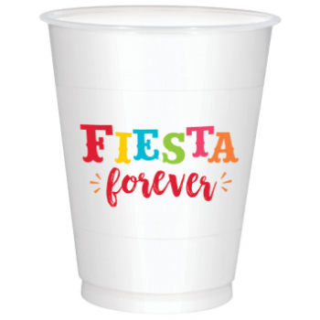 Picture of FIESTA FOREVER PLASTIC CUPS - 25CT
