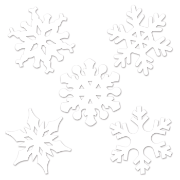 Image de DECOR - SNOWFLAKE MINI CUTOUTS
