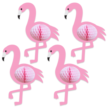 Picture of TISSUE FLAMINGOS - 4/PK