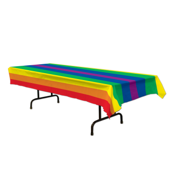 Picture of PRIDE RAINBOW TABLE COVER