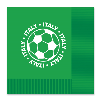 Picture of SOCCER - LUNCHEON NAPKINS - ITALY