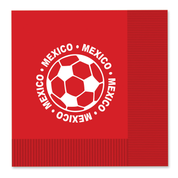 Picture of SOCCER - LUNCHEON NAPKINS - MEXICO