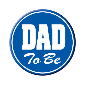 Picture of DAD TO BE BUTTON