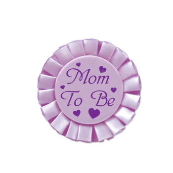 Image de MOM TO BE SATIN BUTTON