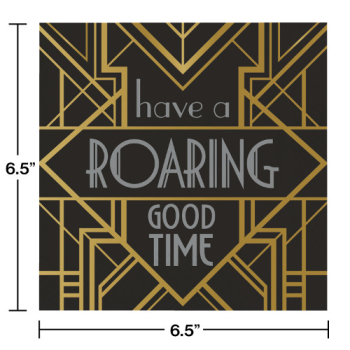 Image de HAVE A ROARING GOOD TIME LUNCHEON NAPKINS