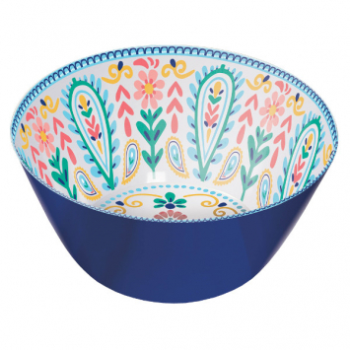 Picture of BOHO VIBES LARGE MELAMINE SALAD BOWL