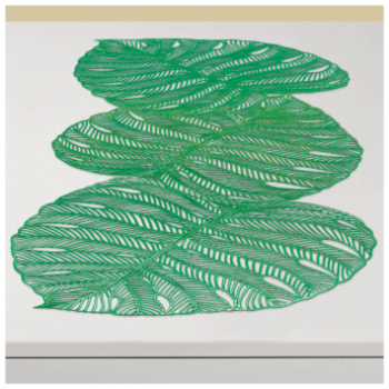 Picture of VINYL BANANA LEAF TABLE RUNNER