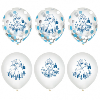 "Picture of FROZEN 2 - 12"" CONFETTI BALLOONS"