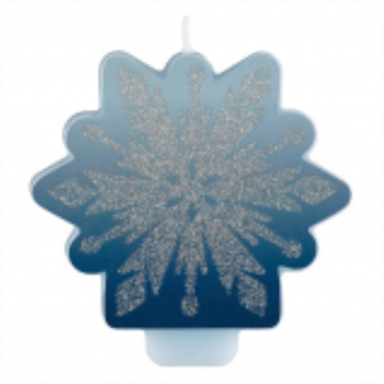 Picture of FROZEN 2 - GLITTER AND DECAL CANDLE
