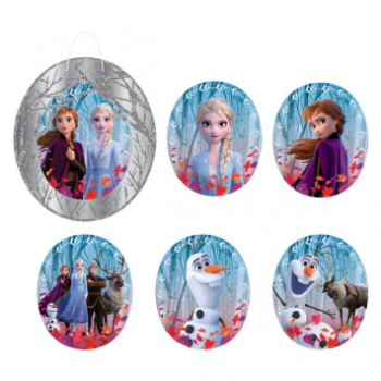 Picture of FROZEN 2 - GLITTER WALL FRAME DECO KIT